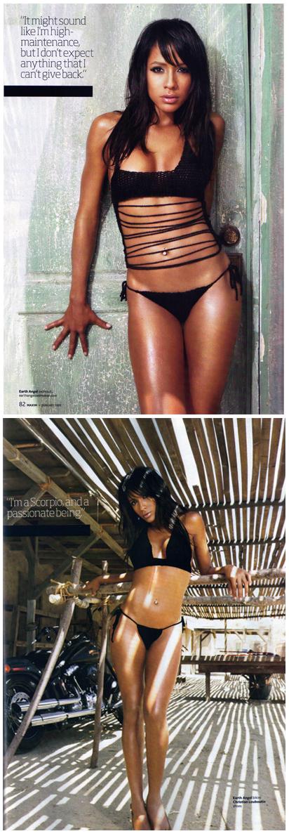 BFE Dec 18, 2008 Maxim Dania Ramirez in MAXIM magazine