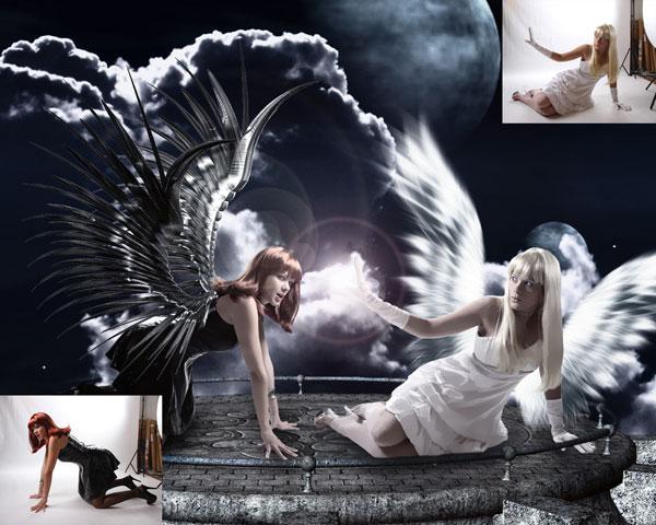 Dec 19, 2008 CGI Photography  Good vs Evil