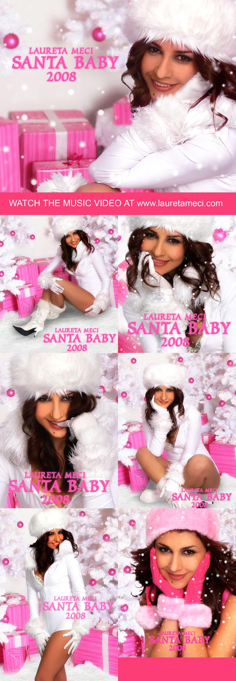 Winter Wonderland Dec 20, 2008 2008 John Bailey and Laureta Meci Music Video PLEASE SEE AT **** www.lauretameci.com *****  Promo Pics - Laureta Meci - Santa Baby 2008