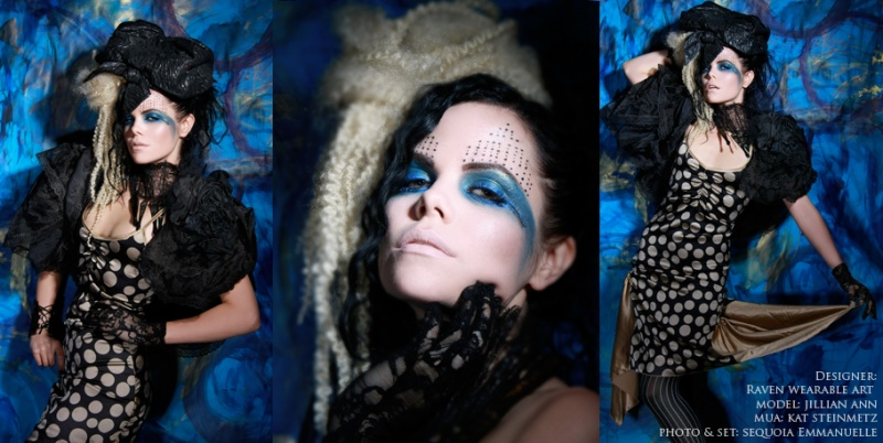 Dec 22, 2008 ©SEQUOIA EMMANUELLE Jillian Ann in Raven Wearable Art