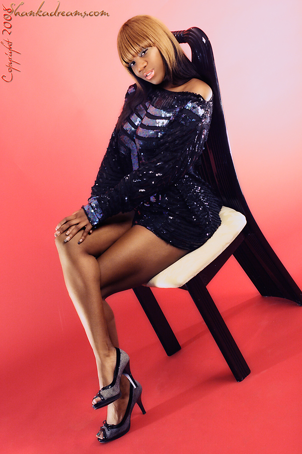 Female model photo shoot of bonnie_kandi by Intermission in Fremont, Studio