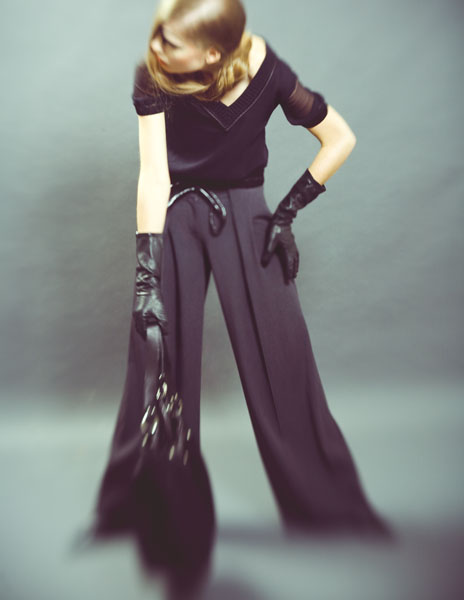Female model photo shoot of Da Ponte Style