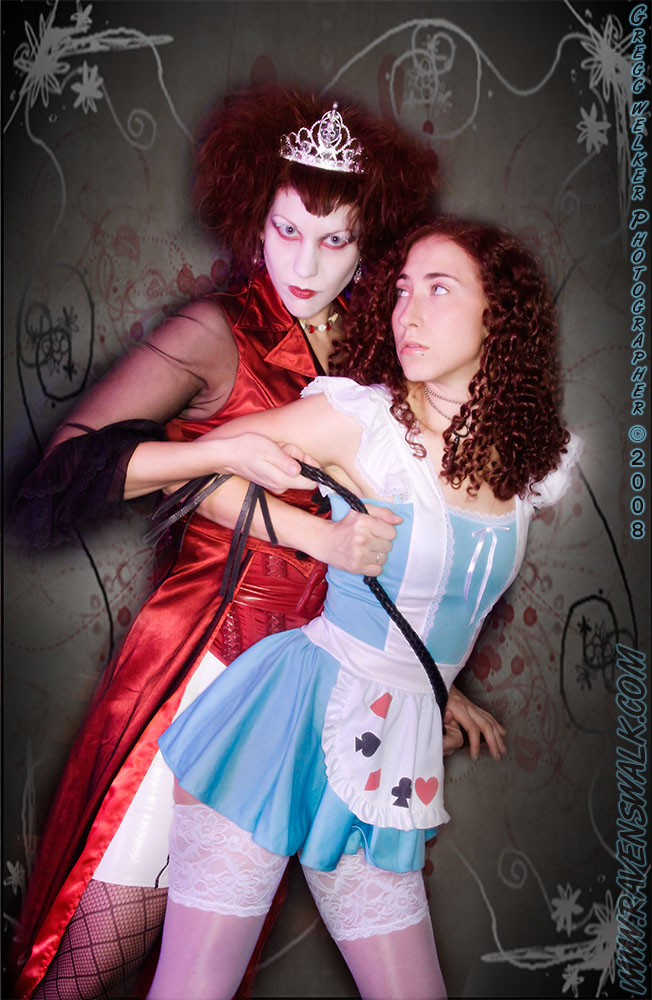 Wonderland ;-) Dec 29, 2008 GWelker(c)2008 Malice and the Red Queen