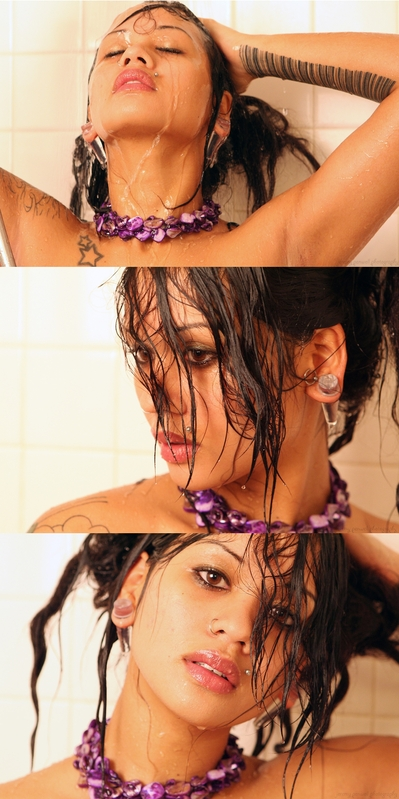 the Shower Dec 29, 2008 Jeremy Penwell All pretty and shit. Styling/MUA: Me