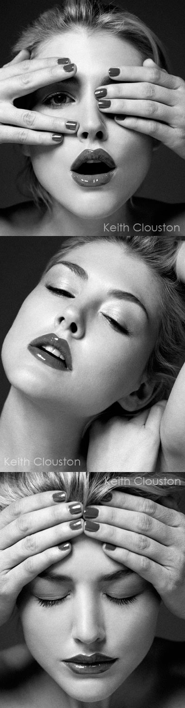 London, 2008 Dec 31, 2008 Keith Clouston Amanda@Quintessentially Models<br>Make-up: Julie Cooper