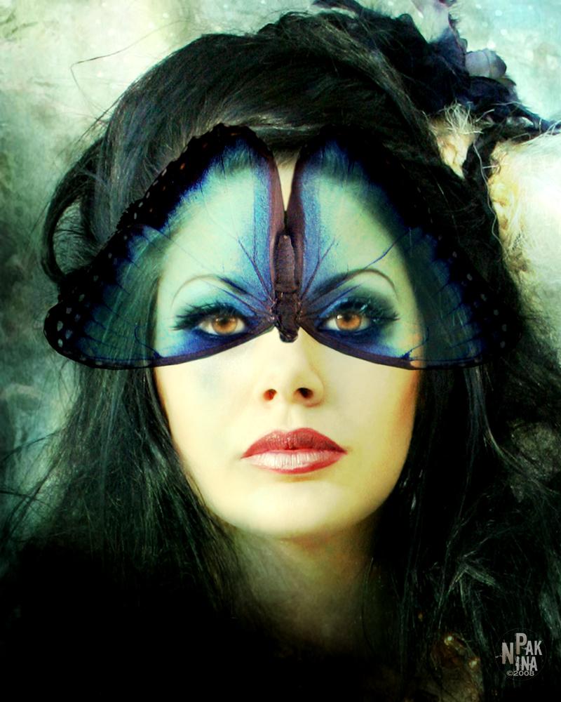 Jan 01, 2009 Nina Pak © 2009 butterfly Mask