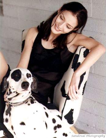 Phx AZ Jan 01, 2009 Valeria Ford AZ & Bandit (My X dalmation)