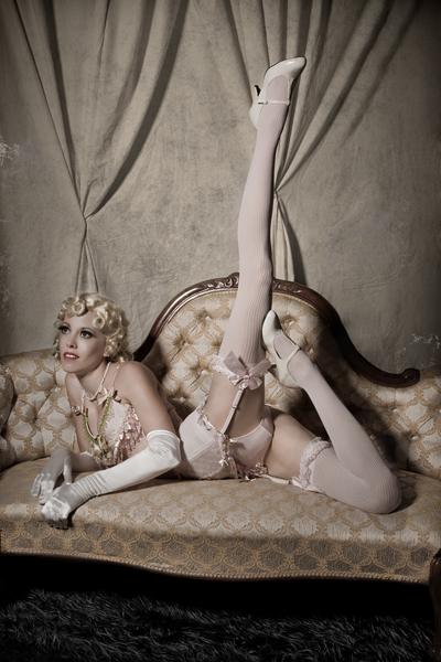 The Burlesque Lounge Jan 02, 2009 david woolley Kimtortion - Sugar Blue Burlesque