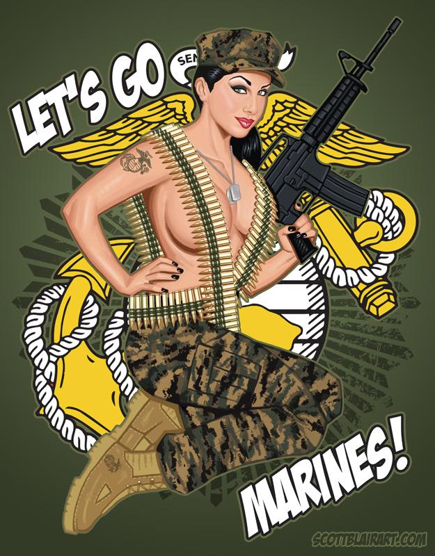 Jan 02, 2009 Lets Go Marines