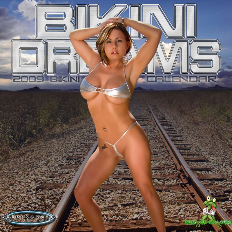 Jan 03, 2009 Photo by: SyberSamuria   Editing by: Insane Imagez Bikini Dreams 2009 Calendar.. I am Cover girl and also Ms. March.. If you are interested in purchasing one, let me know!