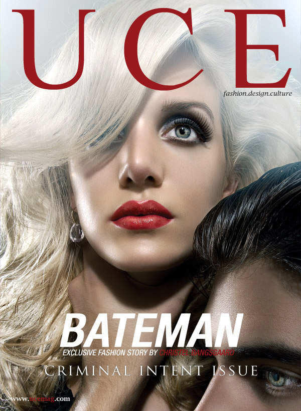 New York Jan 03, 2009 UCE Magazine Criminal Intent Issue Cover photographed by Christel Bangsgaard