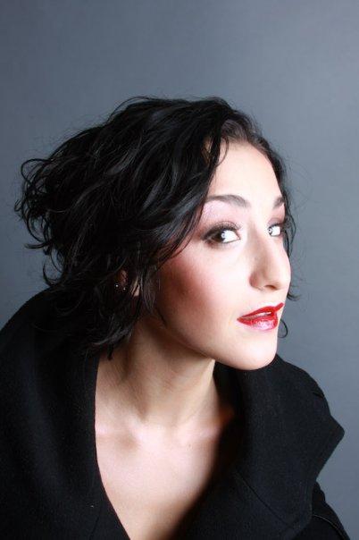 Female model photo shoot of SARA P by Simon H NYC, makeup by Jana Kutak Artistry