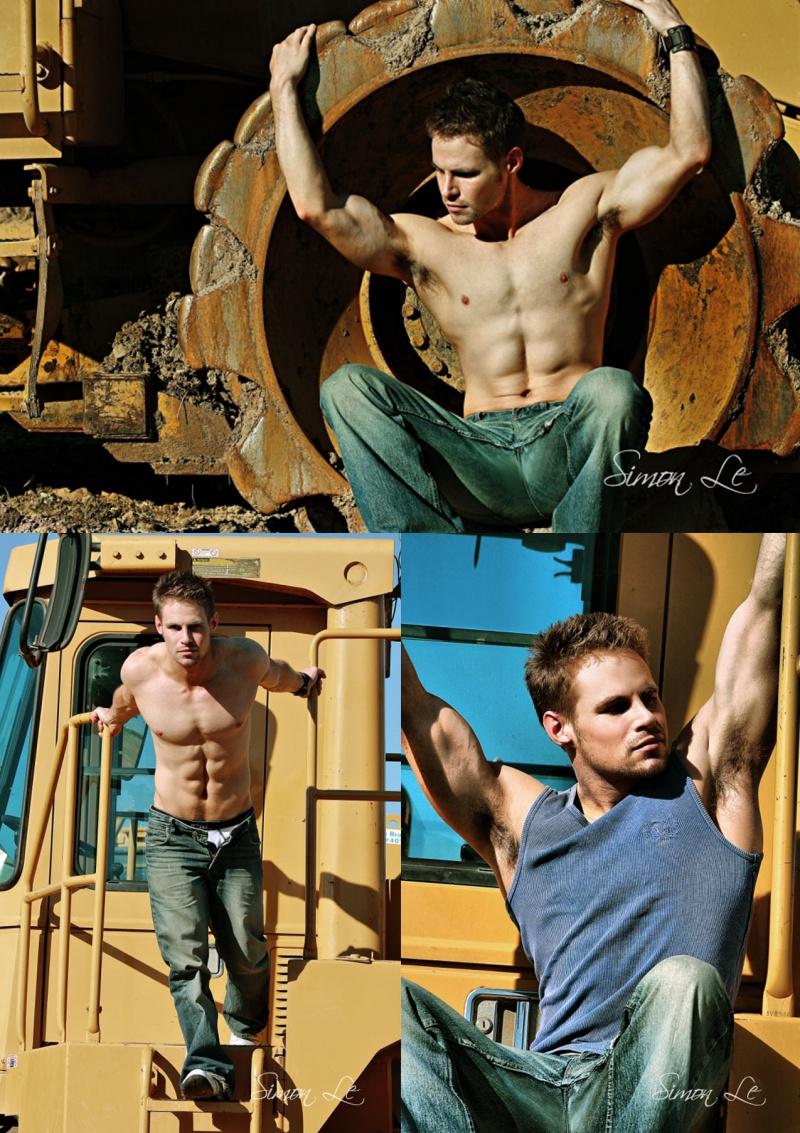 Male model photo shoot of Peter Stubbs by Simon Le in Sydney, Australia