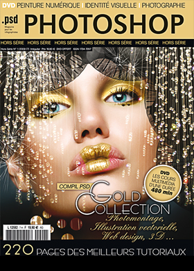 Jan 04, 2009 PSD PHOTOSHOP MAGAZINE  Gold collection december/january 2009