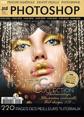 Jan 04, 2009 PSD PHOTOSHOP MAGAZINE  Gold collection december/january 2009