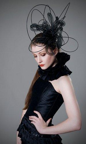 Rebecca Parker-Studio. Jan 04, 2009 Photography by Rebecca Parker.  Dress by Helen Rhiannon.  Hat by Kate McKenny. Fashion Rocks 2008