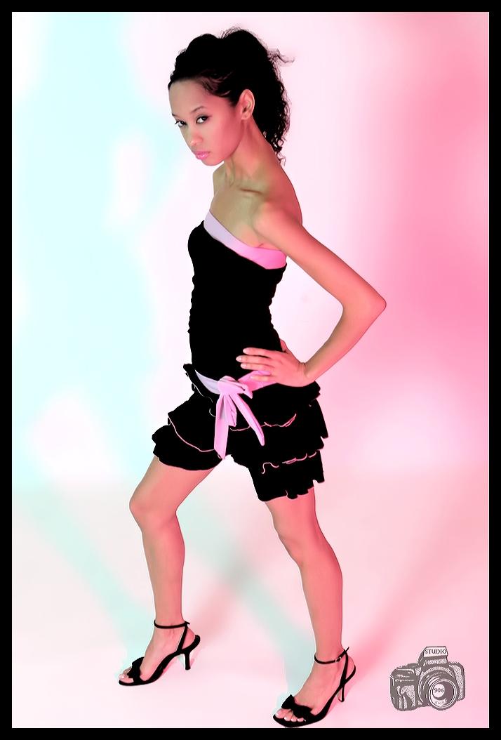 Female model photo shoot of Ming Li by Rich
