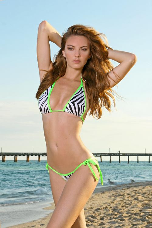 Female model photo shoot of Leonessa Swimwear