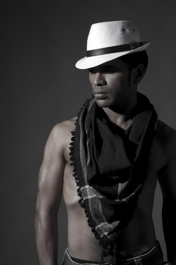 Male model photo shoot of -ARt- by Togi Panjaitan in Jakarta