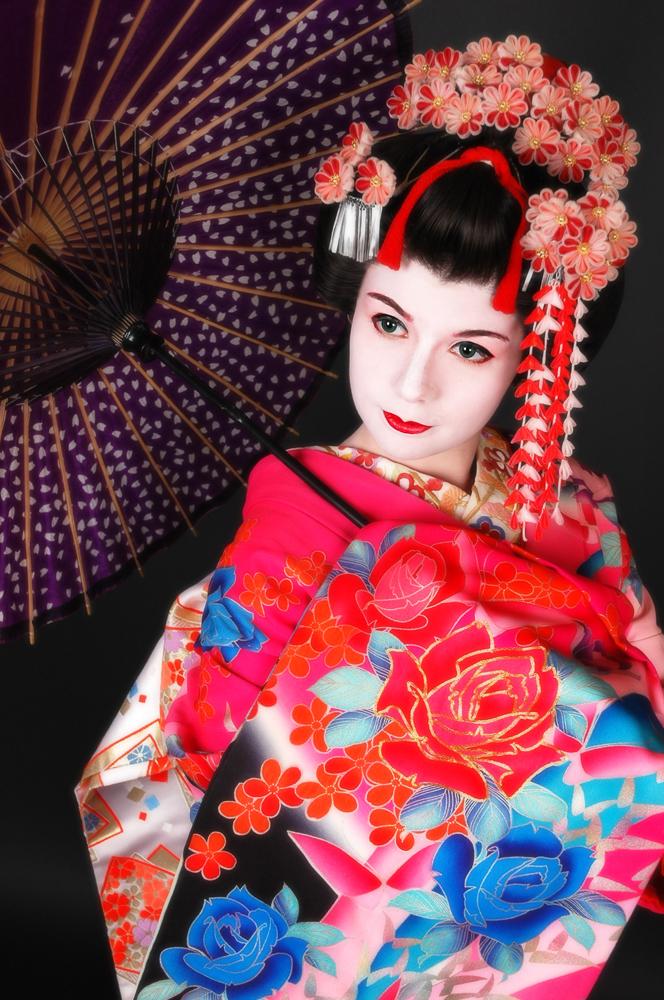 KYOTO,JP 「京都, 日本国」 Jan 08, 2009 ようめこうぼう 舞妓体験STUDIO夢工房  MAIKO