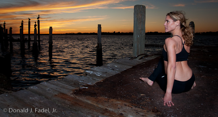 Mayport, FL Jan 08, 2009 © Copyright Donald J. Fadel, Jr. All rights reserved. Leisl Yoga With a View