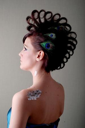Jan 08, 2009 Twin Town Studios- Adie Gately Peacock Inpspired! Model Tiffany Pantleo