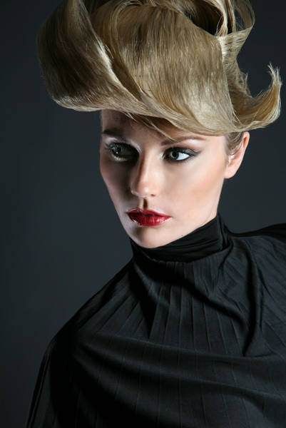 Phillips studio Jan 09, 2009 Phillip Ritchie Makeup by me for White Sands hair styling