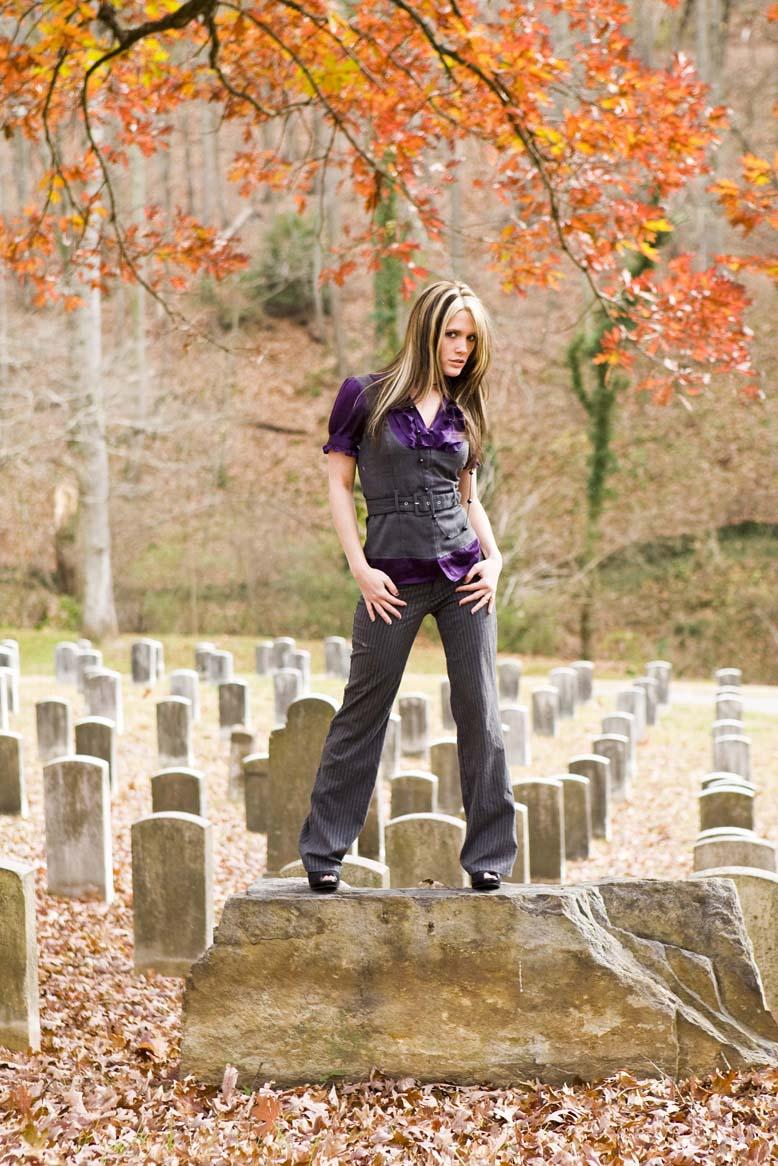 Male model photo shoot of Frank Brady in Riverside Cemetery in Asheville NC