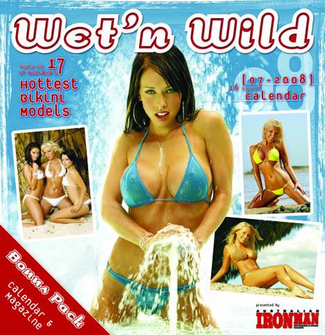 Australia Jan 10, 2009 Australian IRONMAN  Wet N Wild Calendar (in the blue)