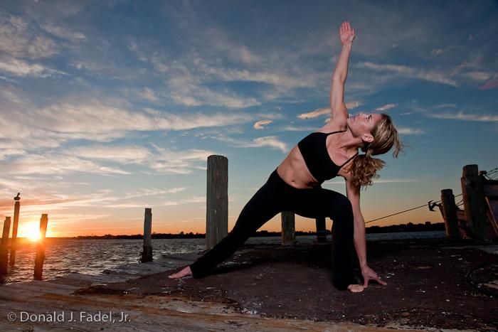 Mayport, FL Jan 10, 2009 © Copyright Donald J. Fadel, Jr. All rights reserved. Leisl Mayport Yoga Sunset