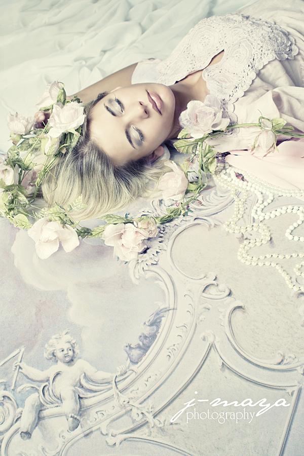 studio Jan 11, 2009 model: Esther, photo: Ja-Lee sleeping beauty