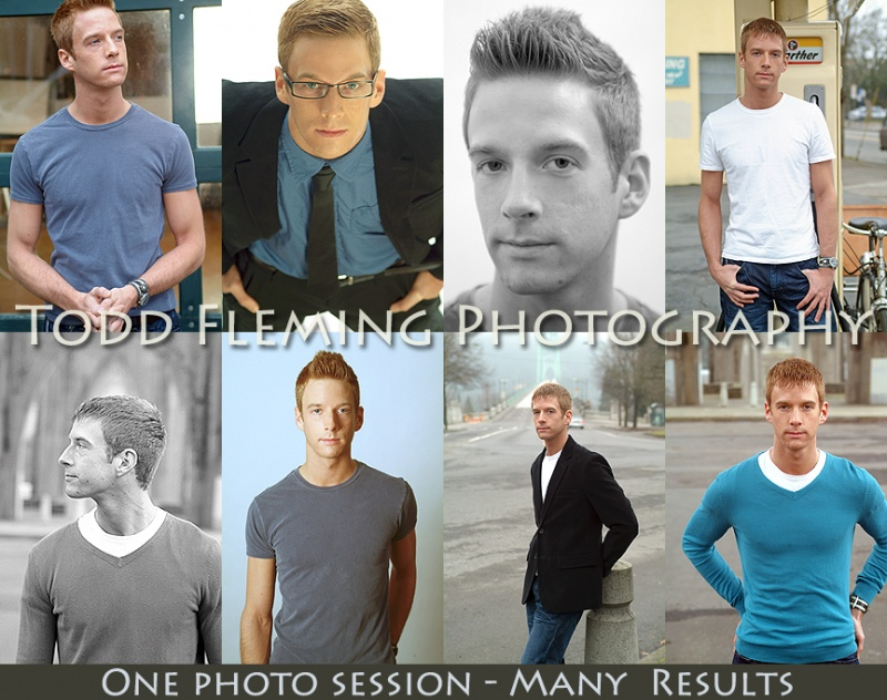 Male model photo shoot of toddfleming and Jesse Jerome in Portland Studio