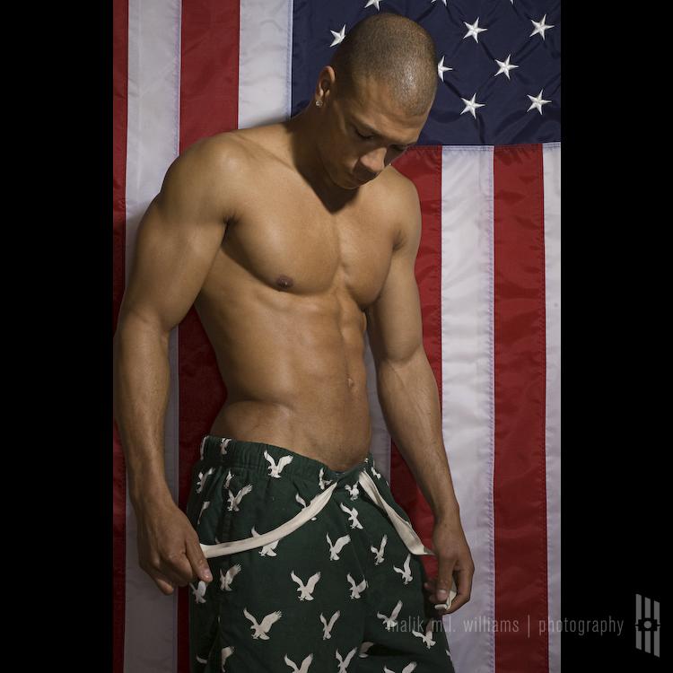 Male model photo shoot of malik m.l. williams and Cody Brown in 667 Studio