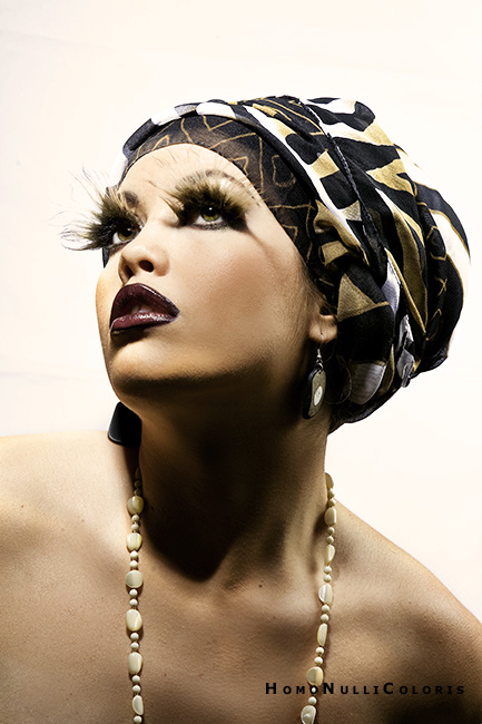 Jan 14, 2009 photo - Maciej Bujak HNC , make-up & stylist - me