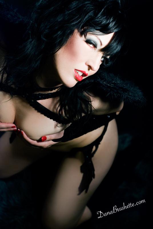London Jan 14, 2009 Dana Brushette dark angel