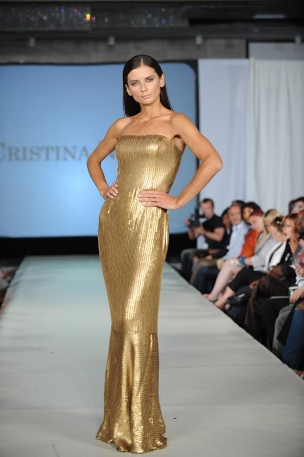 New York Jan 14, 2009 Couture Fashion Week sept. 08 Cristina Nitopi