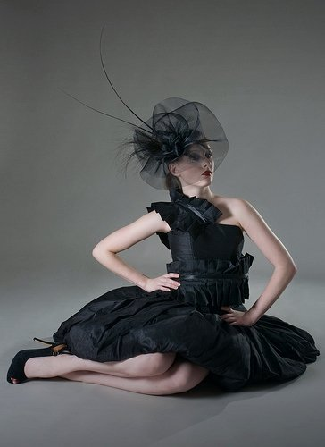 Jan 15, 2009 Photography by Rebecca Parker.  Dress by Helen Rhiannon.  Hat by Kate McKenny. Fashion Rocks 2008