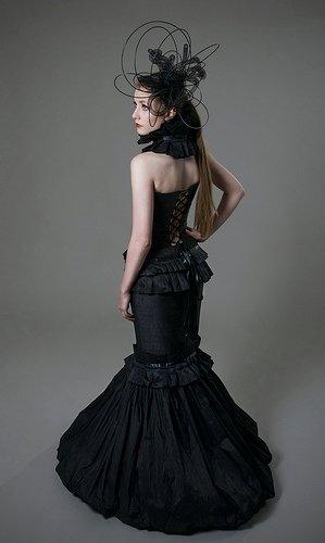 Jan 15, 2009 Photography by Rebecca Parker.  Dress by Helen Rhiannon.  Hat by Kate McKenny. Fashion Rocks 2008