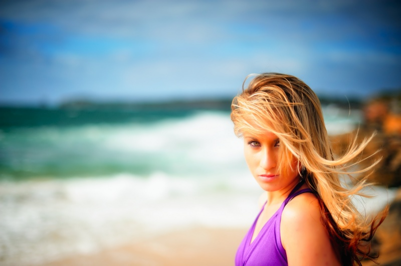 Male and Female model photo shoot of Ed Hobbs and AllyH in La Perouse Beach