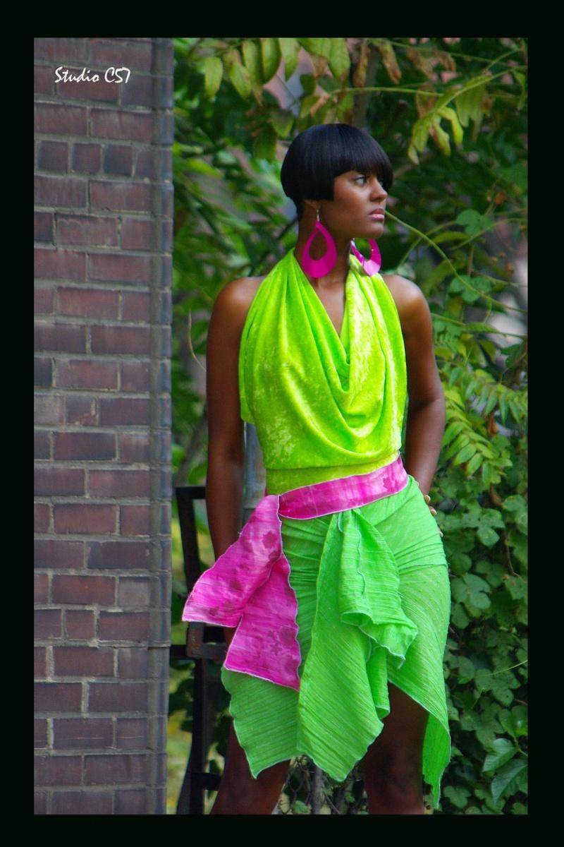 Jan 18, 2009 An Ynobe Sky Original Piece - Wild Greens Dress