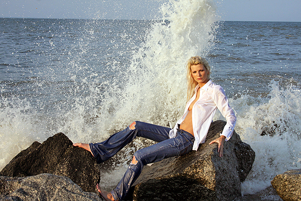 Tybee Island Jan 19, 2009 Jimmy Hardy Photography Wave on the rocks - 2008