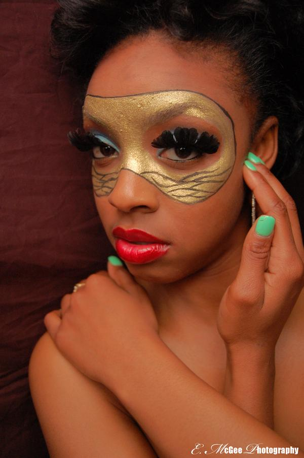 Female model photo shoot of Carmena Victoria by Kween thee Fotographer in SF, makeup by The MUA Herself