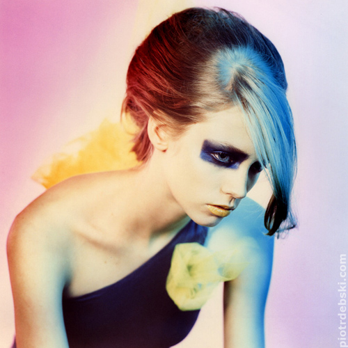 Male and Female model photo shoot of Piotr Debski  and Alex Mru in poland, hair styled by Emil Z