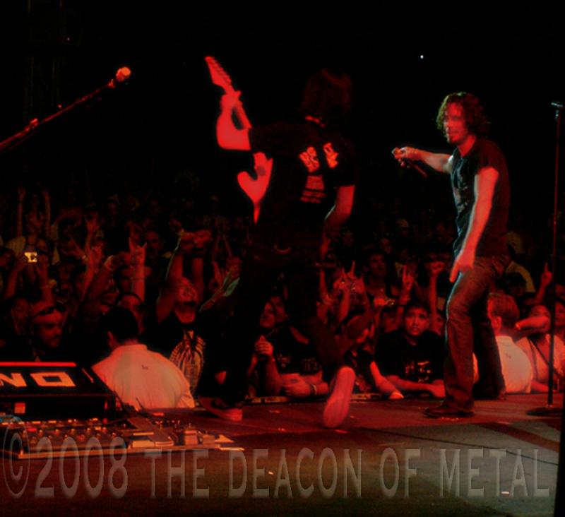 Houston, TX Jan 20, 2009 2008 The Deacon of Metal Chris Cornell