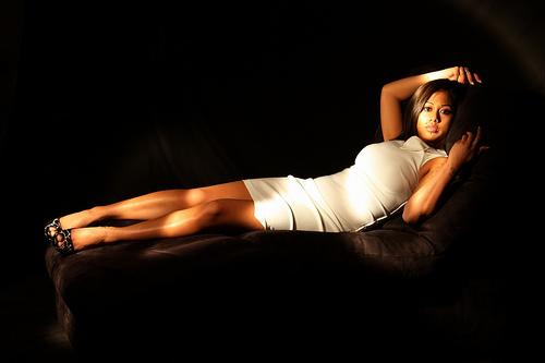 Female model photo shoot of Valentina La Paz by Steve Oviatt Photo