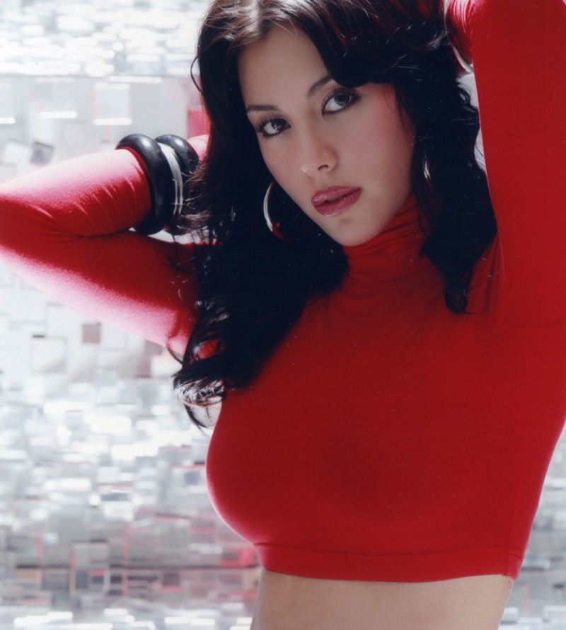 Seoul, South Korea Jan 20, 2009 Hyeong Sun Kim (raw polaroid) lady in red
