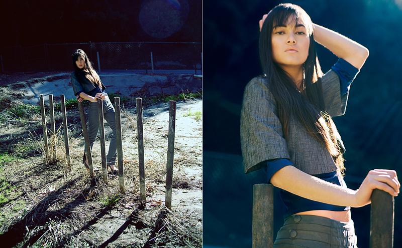 Female model photo shoot of Kali Oseano