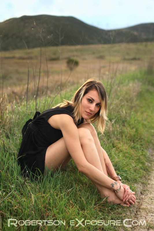 Male and Female model photo shoot of Robertson Exposure and Tylara Michelle in Mission Trails