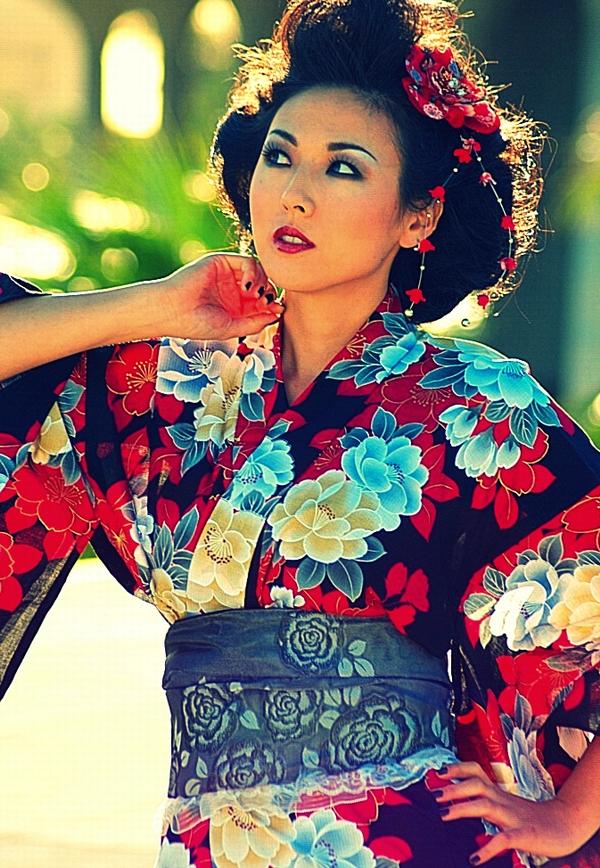 Female model photo shoot of Nana Okada by TGeorgePhotography, makeup by Biyoushi