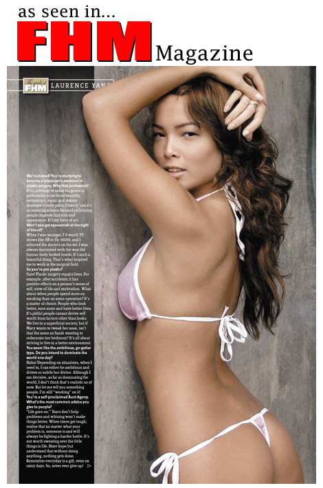 NYC Jan 22, 2009 Tear sheet for FHM